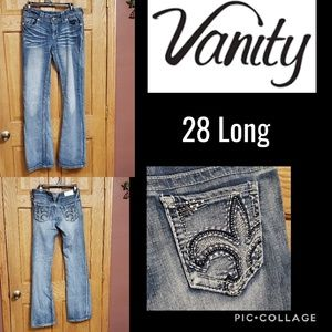 Vanity Premium Light Wash Jeans 28 Long